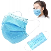 Disposable Gauze 10PCS FDA Earloop 3 Ply Face Mask Manufactures