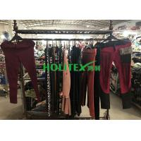 Colorful Used Winter Clothes A70-W-LCP Second Hand Skinny Pants For Ladies Manufactures