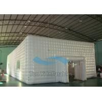 Damp Proof Event Inflatable Cube Marquee Big White Party Canopy Tent Manufactures