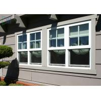 High Acid Resistant Aluminium Vertical Sliding Windows Open Way / Double Hung Window Manufactures