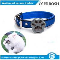 dog gps tracker/waterproof pet gps tracker /gsm quad band network/geo-fence Manufactures