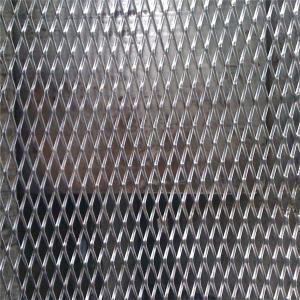China expanded steel diamond mesh on sale