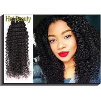 China 100g 5A Virgin Brazilian Hair Kinky Curly, No Shedding For Girl on sale