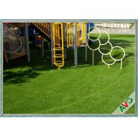 High Density Natural Looking Playground Artificial Grass Safe For Children Manufactures