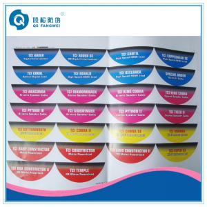 Custom Printed Self Adhesive Labels Manufactures