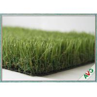 Stand Straight Playground Synthetic Turf , Landscaping Playground Fake Grass Manufactures