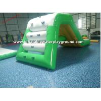 Quality PVC Tarpaulin 0.9mm Inflatable Backyard Water Slide , Inflated Curved Water for sale