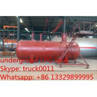 China 40 metric tons buried lpg gas tanker for export, hot sale 100,000L ASME standard underground lpg gas propane tank on sale