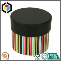 Round Shape Lid Off Matte Color Print Paper Chipboard Gift Packaging Box Manufactures