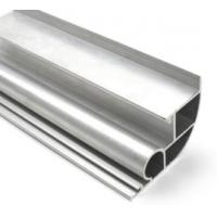 Quality Silvery Anodized 6061 Aluminum Profile Aluminum Extrusion Profile With Drilling for sale