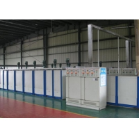 China Stainless Steel Mesh Belt Gas Glass Annealing Kiln on sale