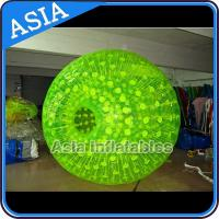 Colorful Inflatable Zorb Ball , PVC / TPU Customized Ball for Sports Entertainment for sale