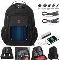 China 2 watt solar backpack charger include 2600mAh power bank fit for all smart phone on sale