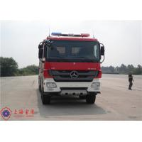 6x4 Drive Fire Fighting Truck Rotatable Type Cab With 16 Forward Gear Manufactures