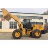 Big 162KW Flexible Wheel Loader Machine 2.7-4.5m3 Bucket Capacity Manufactures
