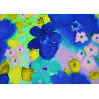 6OZ Beautiful Patterned Polyester Fabric Heat Transfer Printing For Shoes Manufactures