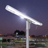 8000LM Motion Detector Street Lights Remotely Control All In One Lithium Battery Warm White Manufactures