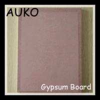 Sale Fire Resistant Paper Faced Gypsum Board With Good Quality And Good Price Manufactures
