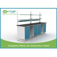 Durable Metal Physics Laboratory Furniture Work Benches For University / School Manufactures