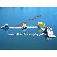 Durable Inflatable Slide Water Park With Runway For Kids Or Adults Manufactures