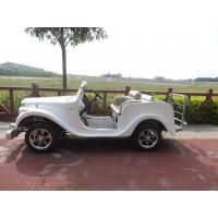 2 Passenger White Classic Vintage Cars 220V Glass Reinforced Plastics Manufactures