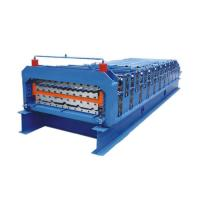 Double Layer Metal Roofing Sheet Ibr Roof Panel Roll Forming Machine Manufactures