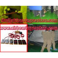 Air caster rigging equipment applied on moving heavy loads Manufactures