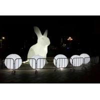 inflatable rabbit balloon  lighting balloon Manufactures