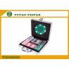 100pcs ABS Poker Chips / Gameland Poker Chips Set With Aluminum Metal Case