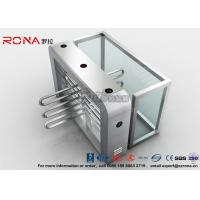 Bus Station Waist Height Turnstiles Coin Collector Remote Control Boom Barrier Gate With 304# stainless steel Manufactures