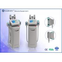 Buy cheap Four handpieces cryolipolysis and Two handpieces can work together / cryolipolys from wholesalers