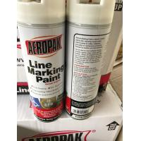 Non Toxic Line Temporary Marking Spray Paint 500ml For Traffic Accident Manufactures