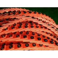 Open Type T Link Belt , PU Low Stretch Adjustable V Belts No Lubrication Required Manufactures