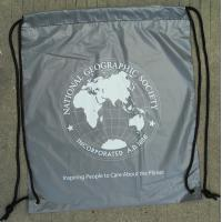 Double Plastic Drawstring Backpack Manufactures