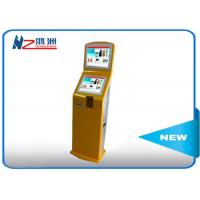 HD wifi foor stand LED information self service kiosk with media display Manufactures