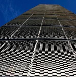 China Exterior facade panel expanded metal facade on sale