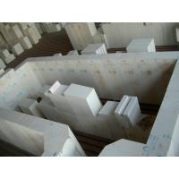 Professional Custom Corundum Brick 48.3% Alumina For Side Walls / Working Ends Manufactures