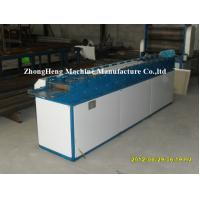 Steel Frame Rolling Shutter Strip Forming Machine 50hz 40mm Solid Forming Shaft Manufactures