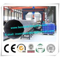 Street pole assembling machine for wind tower production line , Heavy light pipe welding machine Manufactures