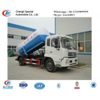 dongfeng tianjin 4*2 6-8cbm sludge tanker truck, factory direct sale dongfeng brand LHD 8m3 vacuum septic tank truck Manufactures