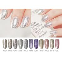 Long Lasting No Odor ECO-Friendly Healthy Glitter Platinum Gel Polish For Nail Beauty Manufactures
