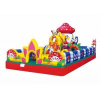 playground kids mushroom small inflatable jumping castle Manufactures