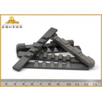 High Efficiency Tungsten Carbide Cutting Tools , Impact Wear - Resistant Cemented Carbide Cutting Tool Manufactures