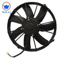 Spal Fan 12 Inch Condenser Fan Motor With 7 Straight Blades / 2800±200rpm Speed Manufactures