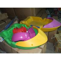 Exciting Outdoor Inflatable Water Games Paddle Boat Kids Hand Boat Manufactures