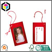 Custom CMYK Full Color Paper Tag Printing Service; Garment Paper Tag Print Manufactures