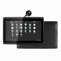 7-inch Tablet PC, 5-point Capacitive Touch Screen, 1.2GHz CPU Speed Manufactures
