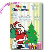 Paper Christmas Greeting Card, Custom Printable Brithday Party Invitation Manufactures