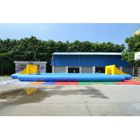 Quality Commercial 0.55mm PVC Tarpaulin Football Field Inflatable Sports Games for sale