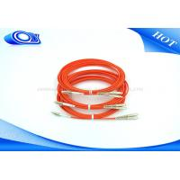 China Duplex  Fiber Optic Patch Cord SC MM single/double mode optical patch cable on sale